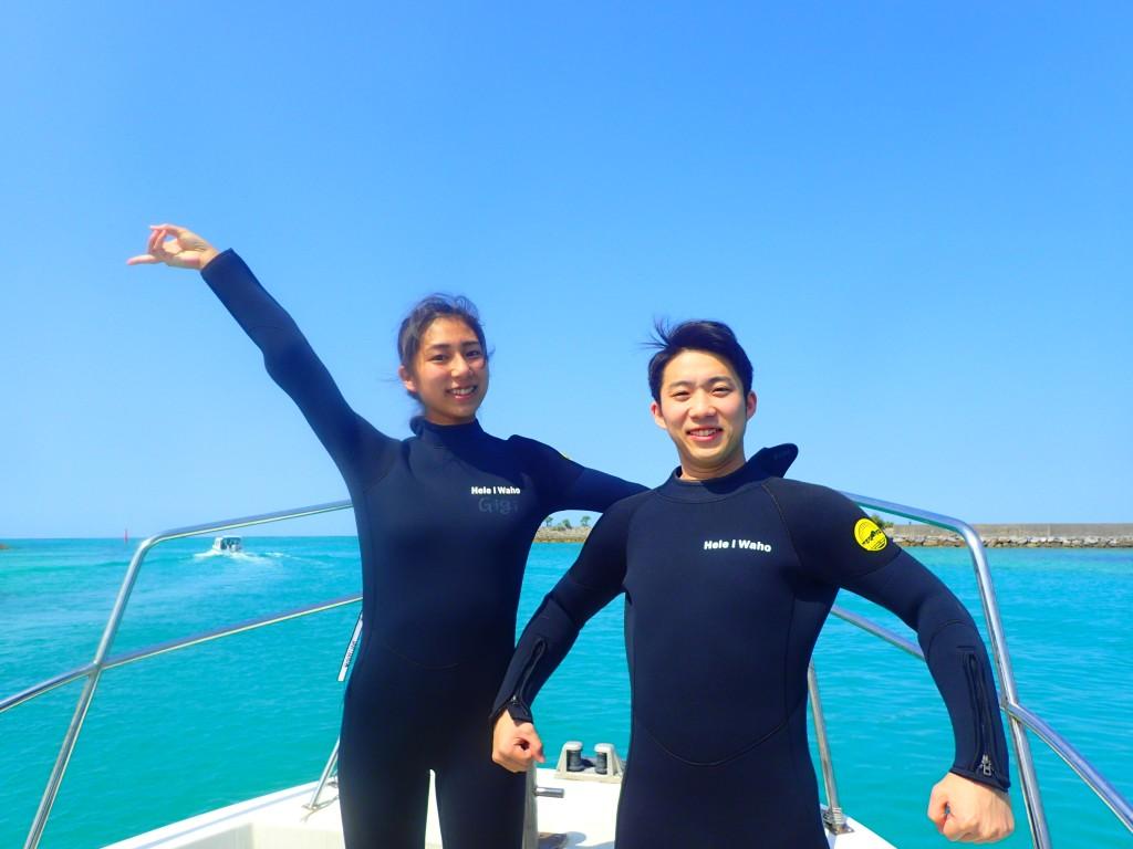 好天氣的青洞浮潛!!!