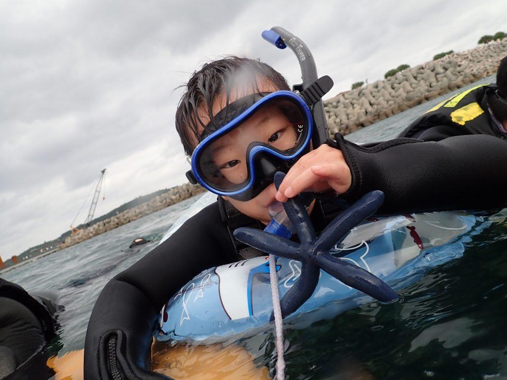 有這樣深藍微微肥短的藍海星-marineclubgigi